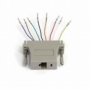 Db25 To Rj45 Modular Adapter  F