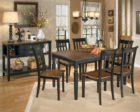 owingsville rectangular dining room set  ashley