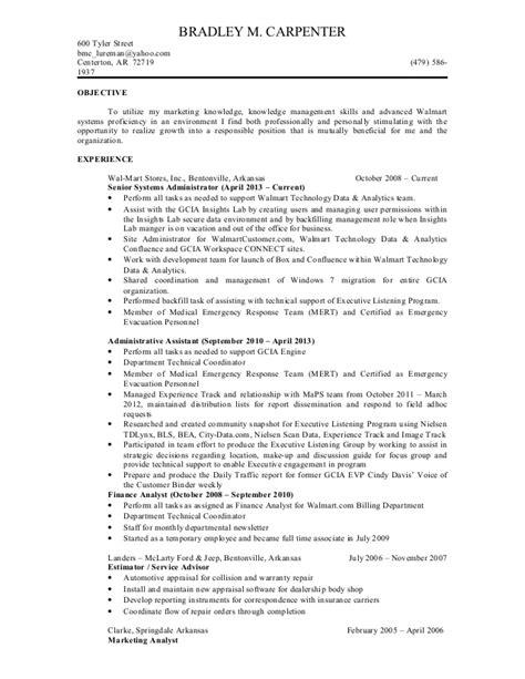 brad carpenter resume