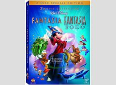 Fantasia & Fantasia 2000 On 4Disc Bluray™ Combo Pack and