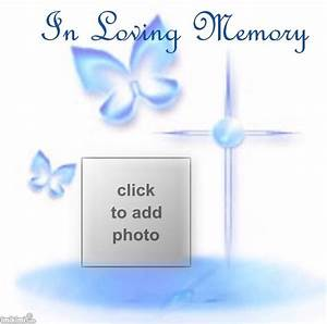 in loving memory imikimi frames pinterest memories With memory cross template