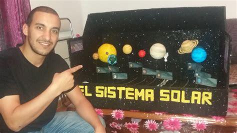 maquetas sistema solar para nios maqueta sistema solar hacer manualidades faciles