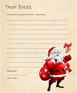 dear santa letter template sample letter template With santa letters 2017