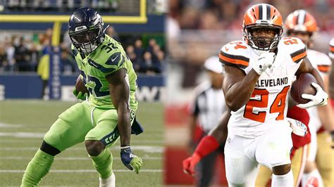 seattle seahawks  cleveland browns week  fantasy