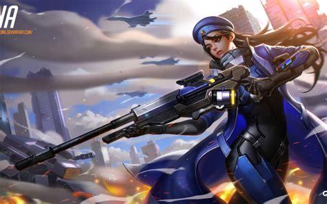 siege xbox one wallpaper overwatch artwork hd 1576