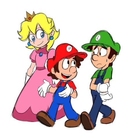 Mario And Luigi Drawing At Getdrawingscom  Free For