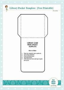 Library Checkout Cards Template Free Library Card Book Pocket Template Printable Kids