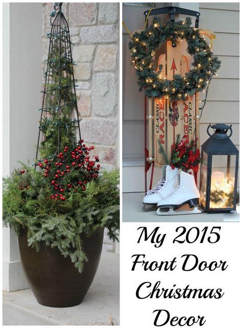 front door  christmas momcrieff