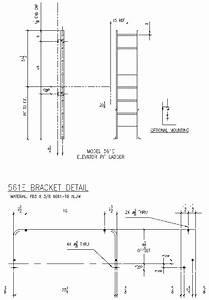 561 E Elevator Pit Access Ladder Alaco Ladder