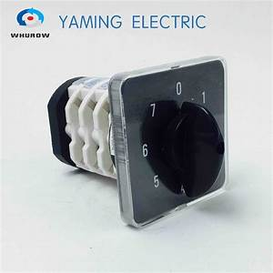 Ymz12 25 Electrical Changeover Cam Rotary Selector