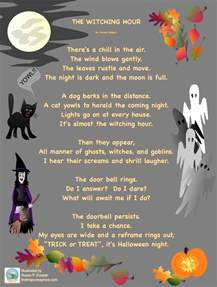 Scary Poems About Halloween by Halloween Poem Festival Collections