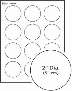 round labels With avery round sticker template