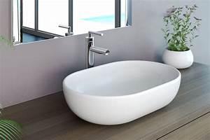 Waschbecken Oval Aufsatz : neg waschbecken uno34a aufsatz waschschale aufsatzbecken waschtisch lotus effekt ebay ~ Frokenaadalensverden.com Haus und Dekorationen