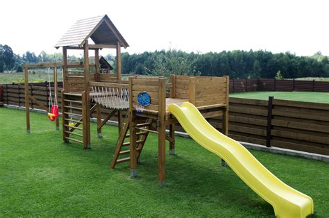 Outdoor Playset Plans Diy Playground Playgrounds Swing