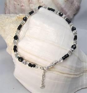 Beaded and crystal anklets LE Creations, Handmade - Anklets