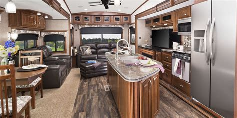 5th Wheel Living Room Up Front by 2017 Luxury Fifth Wheel Jayco Inc
