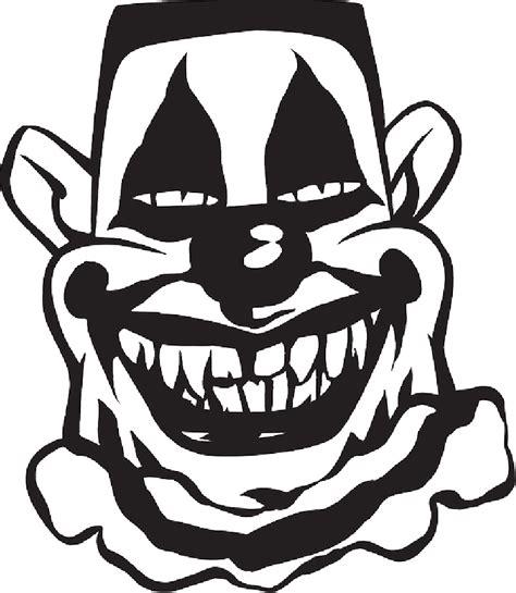 creepy smile cliparts   clip art