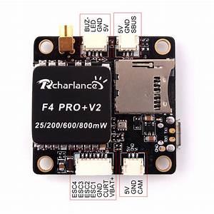 Rcharlance F4 Pro V2 30 5x30 5mm Omnibus F4 Flight Controller Osd Bec Aio 40ch 25  200  600  800mw