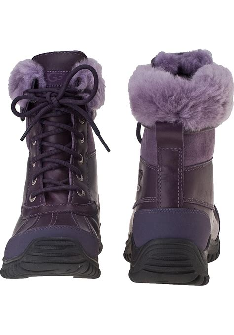 lyst ugg adirondack ii snow boot blackberry wine leather
