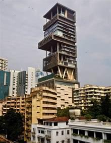 Ambani Home Interior Mukesh Nita Ambani 39 S Billion Dollar Home Antilia In Mumbai Zricks