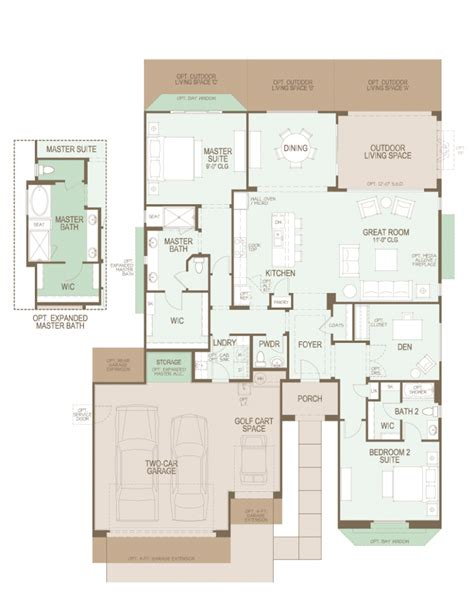 saddlebrooke ranch cortez floor plan casita