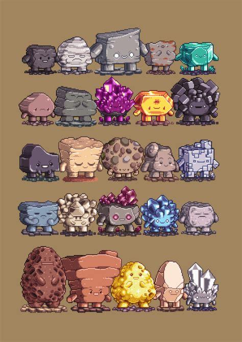Paul Robertson Pixel Art In Pixel Art Games Pixel Art Pixel Characters