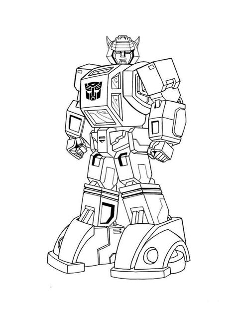 transformers coloring pages   print