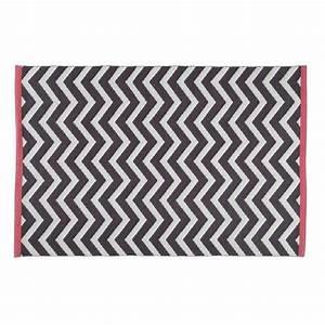 Tapis Jaune Maison Du Monde : tapis gris anthracite wave 140x200 maisons du monde ~ Zukunftsfamilie.com Idées de Décoration