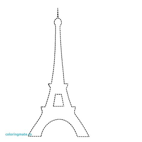 eiffel tower coloring pages  kids  getcoloringscom