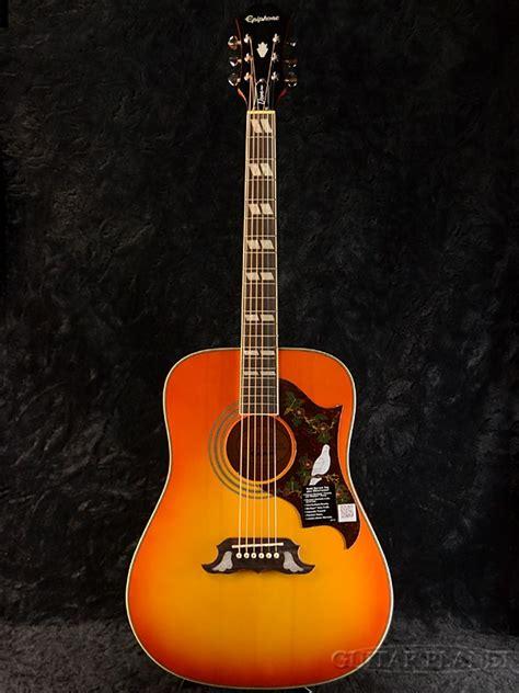 Harga Gitar Epiphone Dove Pro guitar planet epiphone dove pro brand new vaiorimbarst