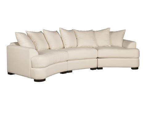 home decorators curved sofa modern leather sectional curved white fabric f sofa