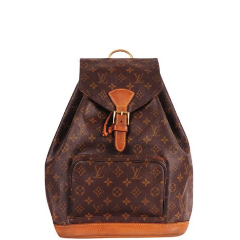 louis vuitton vintage leather backpack