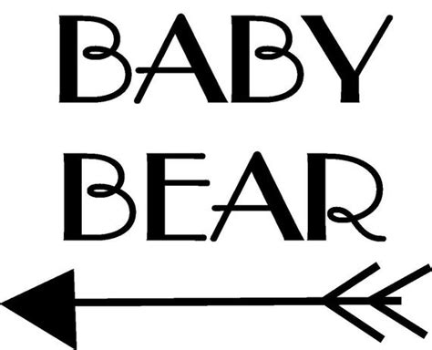 If you wish to use our design, it is only $2 per bundle/design/font for a commercial use (up to 500 physical products or for any other business usages, such as logo design, website design, digital publishing products and such). Items similar to Mama Bear Baby Bear SVG Files on Etsy