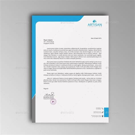 letterhead templates  psd ms word