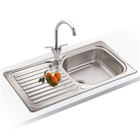 franke kitchen sink franke elba 1 0 bowl polished stainless steel kitchen sink