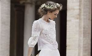 2016 wedding hairstyle inspiration from bridal collections With robe de mariée alberta ferretti