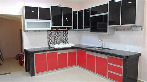 aluminium kitchen cabinet doors fully aluminium kitchen cabinet review youtube