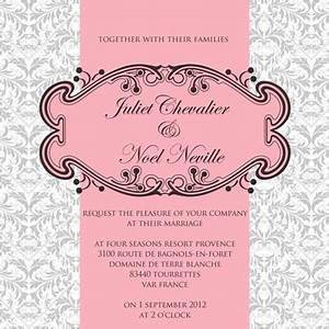 parisian wedding madera estates blog With traditional french wedding invitations