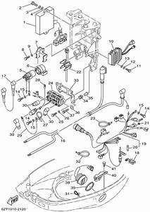 2002 Yamaha Electrical 2 Parts For 50 Hp T50tlra Outboard