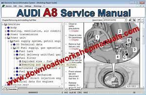 Audi A8 Workshop Repair Manual