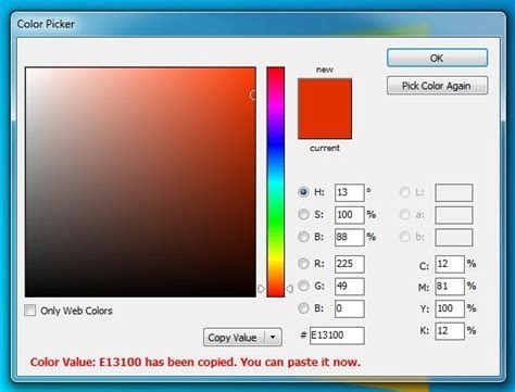 screenshot capture tool with a color picker ruler
