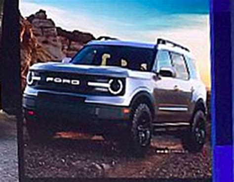 leaked images    ford broncos