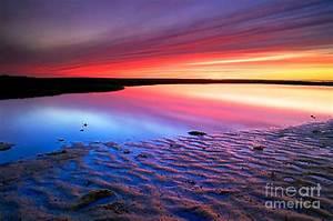 Sunset At Paines Creek Cape Cod Photograph by Matt Suess