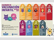 Calendario vacunal Asociación Española de Pediatría de
