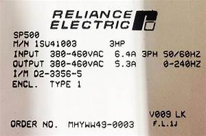 1su44003 In Stock  Reliance Electric Sp500