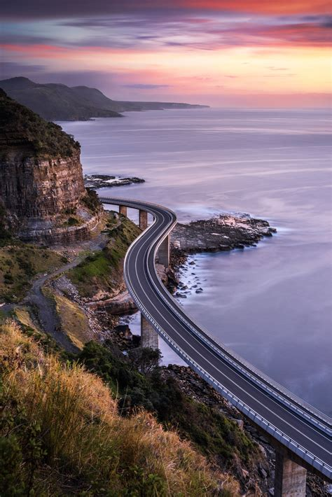 Sea Cliff Bridge Clifton Australia Gorgoues Drive