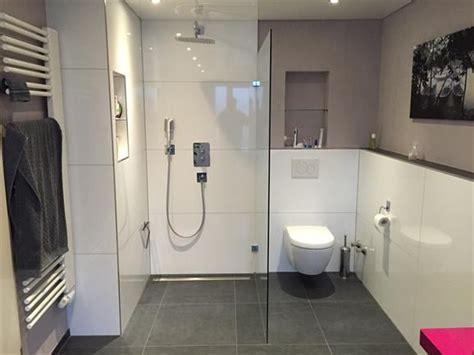 Kleines Badezimmer Mit Walk In Dusche by Walk In Dusche Kleines Bad Bodenb Ndige Walk In Dusche