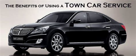 Town Car Service by The Benefits Of Using A Town Car Service Aerocar Service