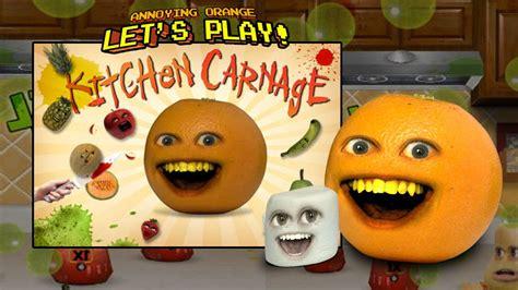 annoying orange kitchen carnage  marshmallow youtube