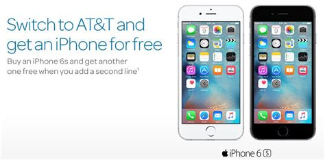 how to get a free iphone 6s free iphone 6s from at t wallethero